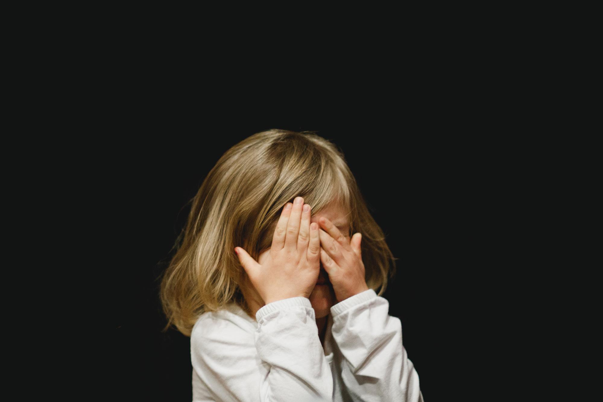ashamed child